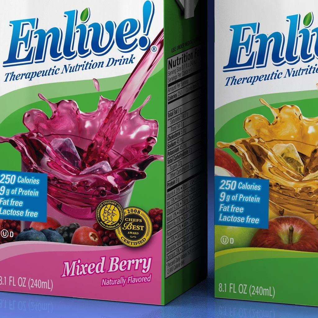 Enlive package design