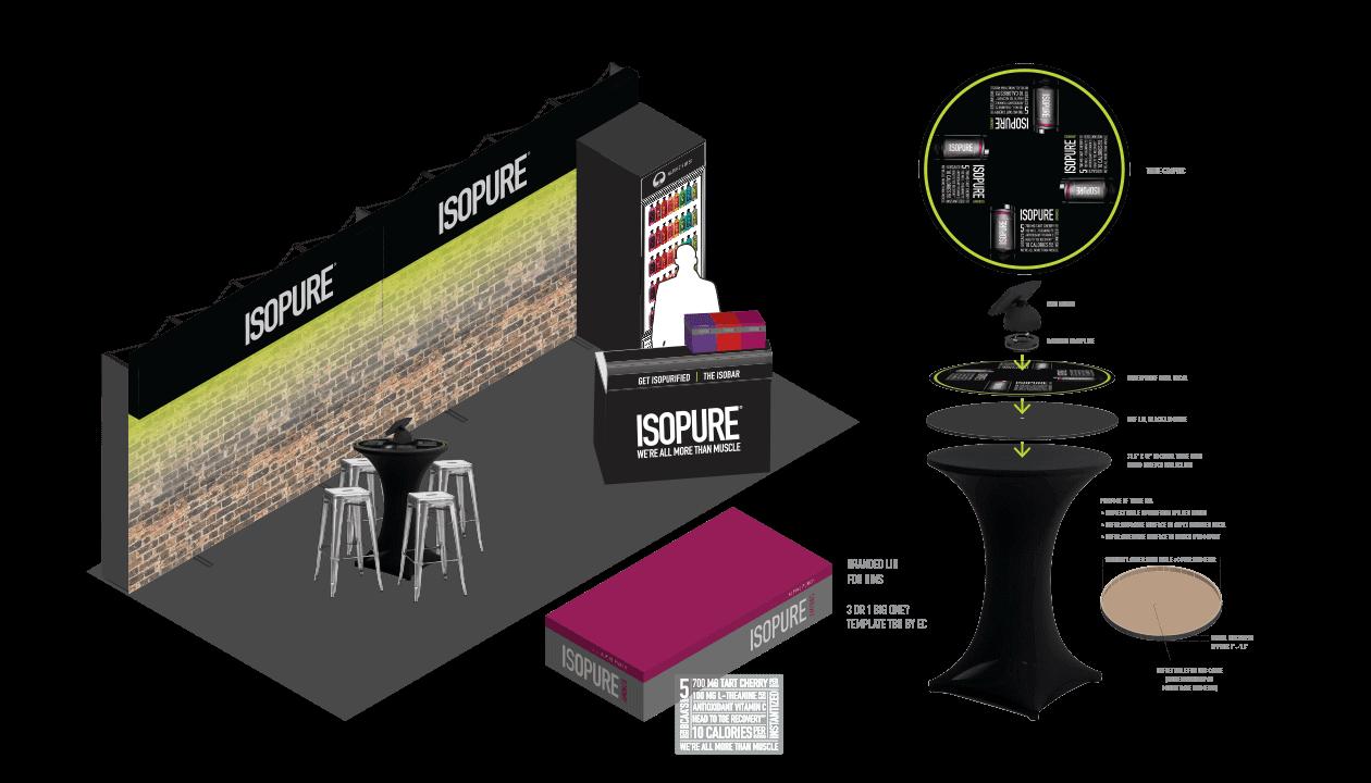 isopure tradeshow design